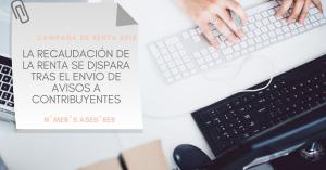 Mayor recaudación en la declaracion de la renta 2018